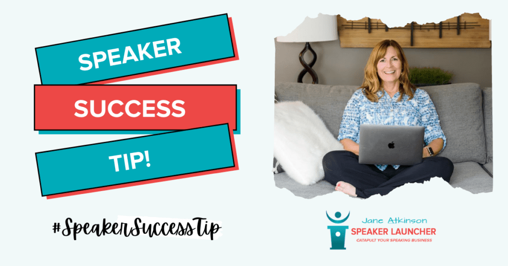 Speaker Success Tips - Jane Atkinson