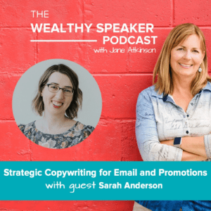 Strategic Copywriting for Email and Promotions with Sarah Anderson