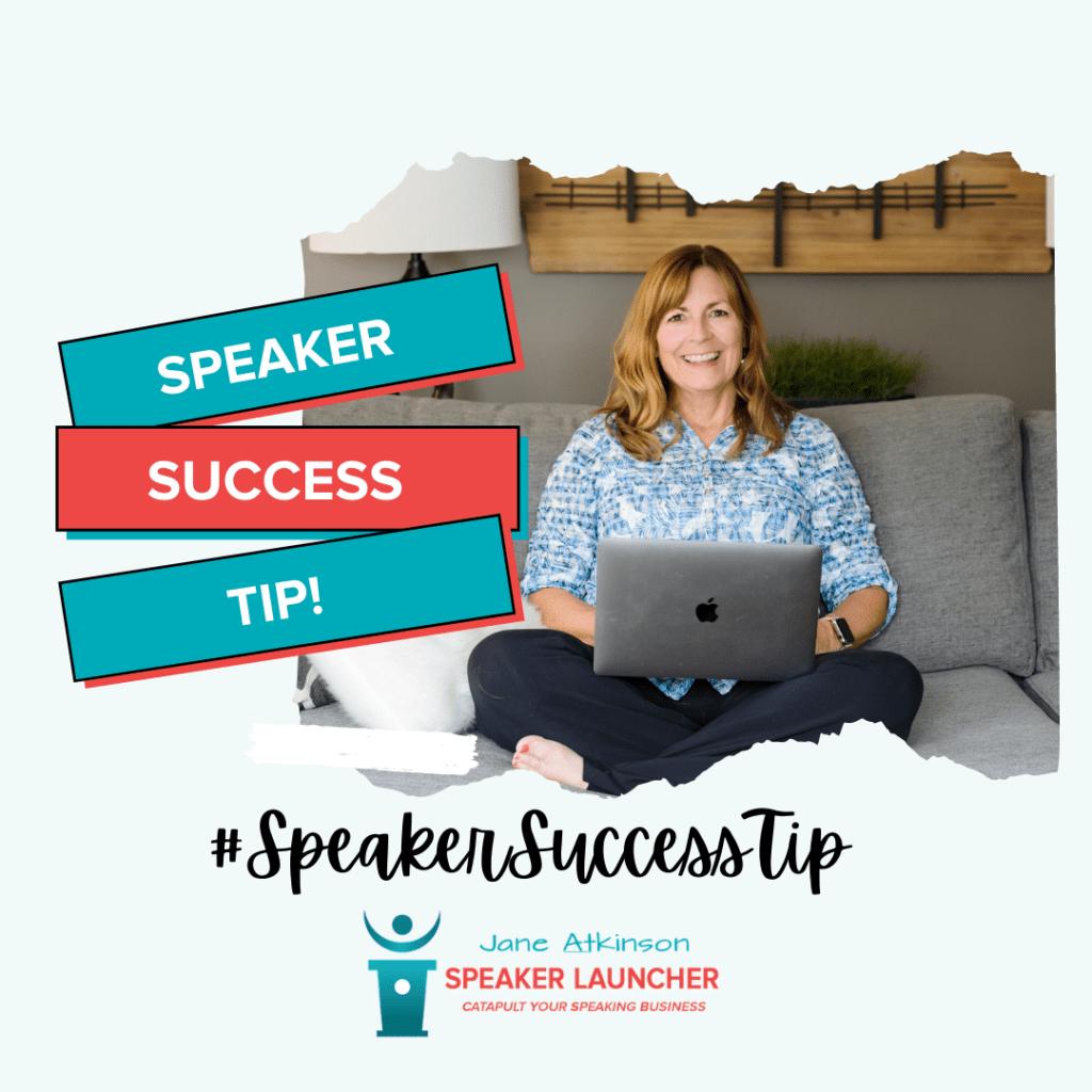 #SpeakerSuccessTip: What's Between You and Your Goals?