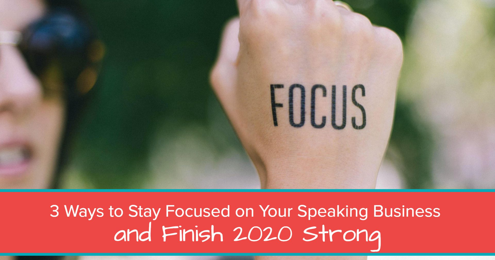 stay focused on your speaking business