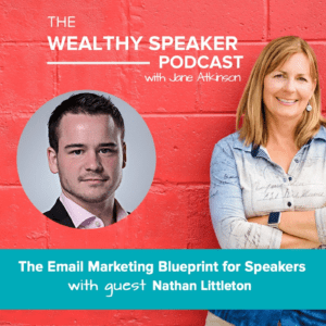 email marketing for speakers with Jane Atkinson and Nathan Littleton