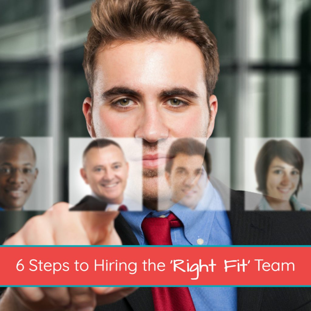 6 Steps to Hiring the 'Right Fit' Team
