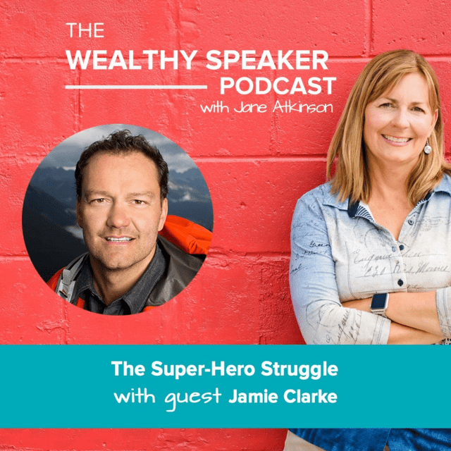The Super-Hero Struggle with Jane Atkinson and Jamie Clarke
