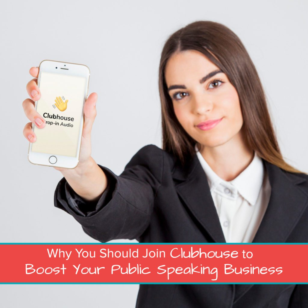 Why You Should Join Clubhouse to Boost Your Public Speaking Business 1200 x 1200