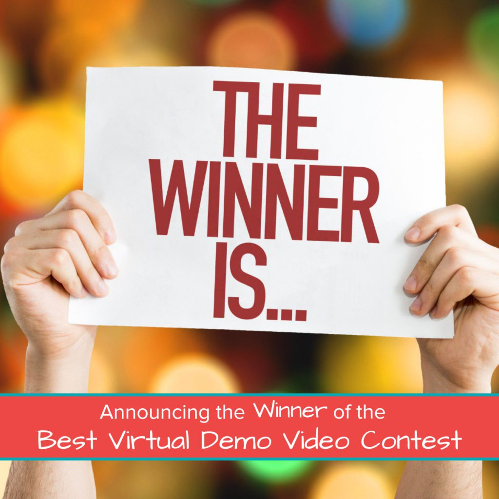 Announcing the Winner of the Best Virtual Demo Video Contest Featured Image