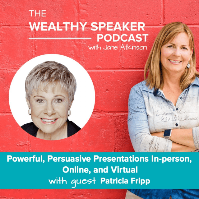 Powerful presentations with Jane Atkinson and Patricia Fripp