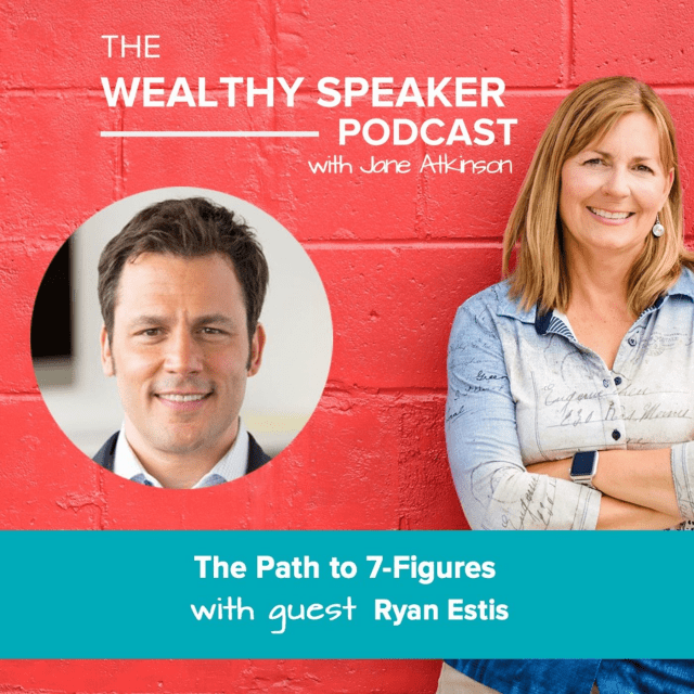 7-figure speaker with Jane Atkinson and Ryan Estis