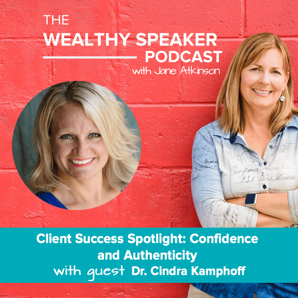 confidence and authenticity with Jane Atkinson and Cindra Kamphoff