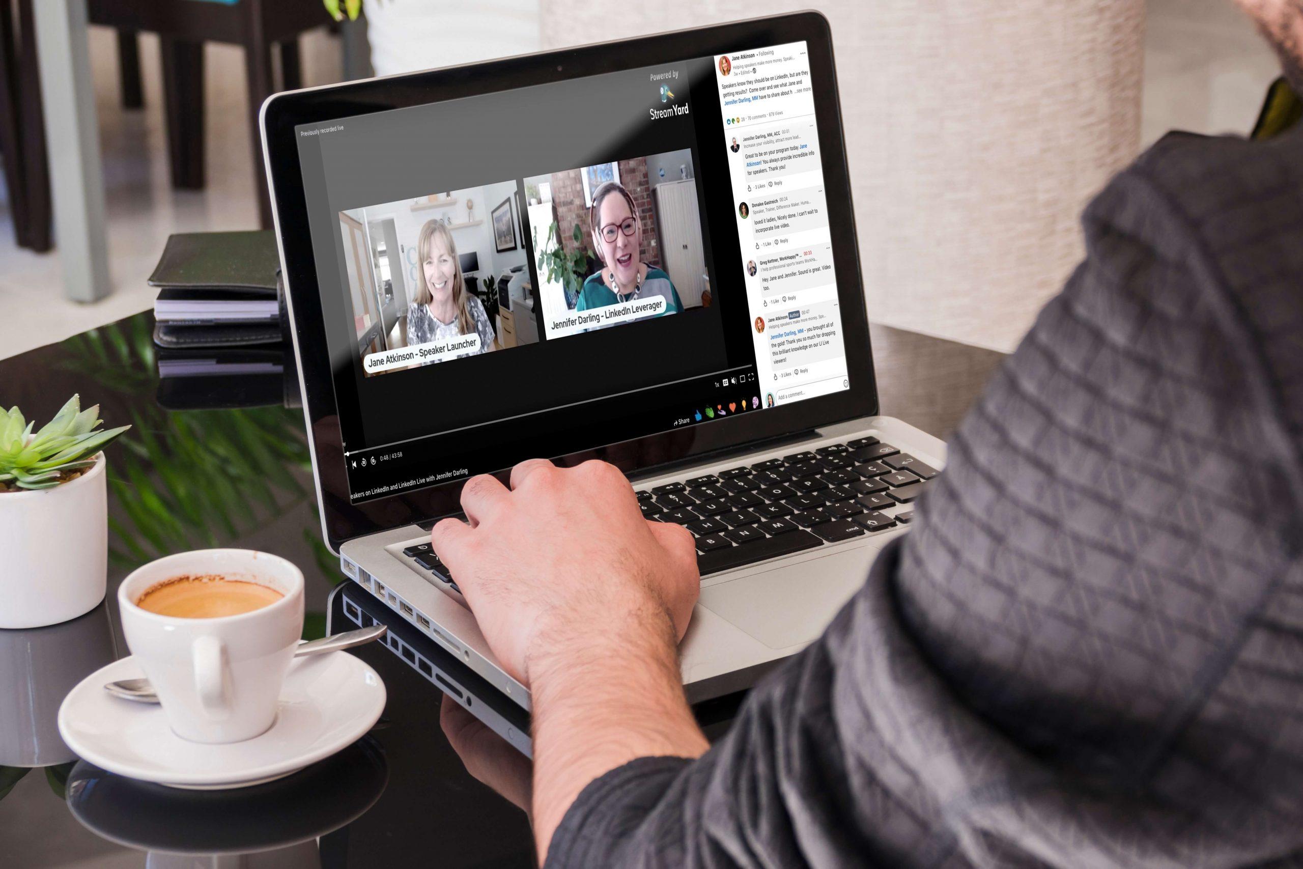 Every Public Speaker Should Be Using LinkedIn Live image