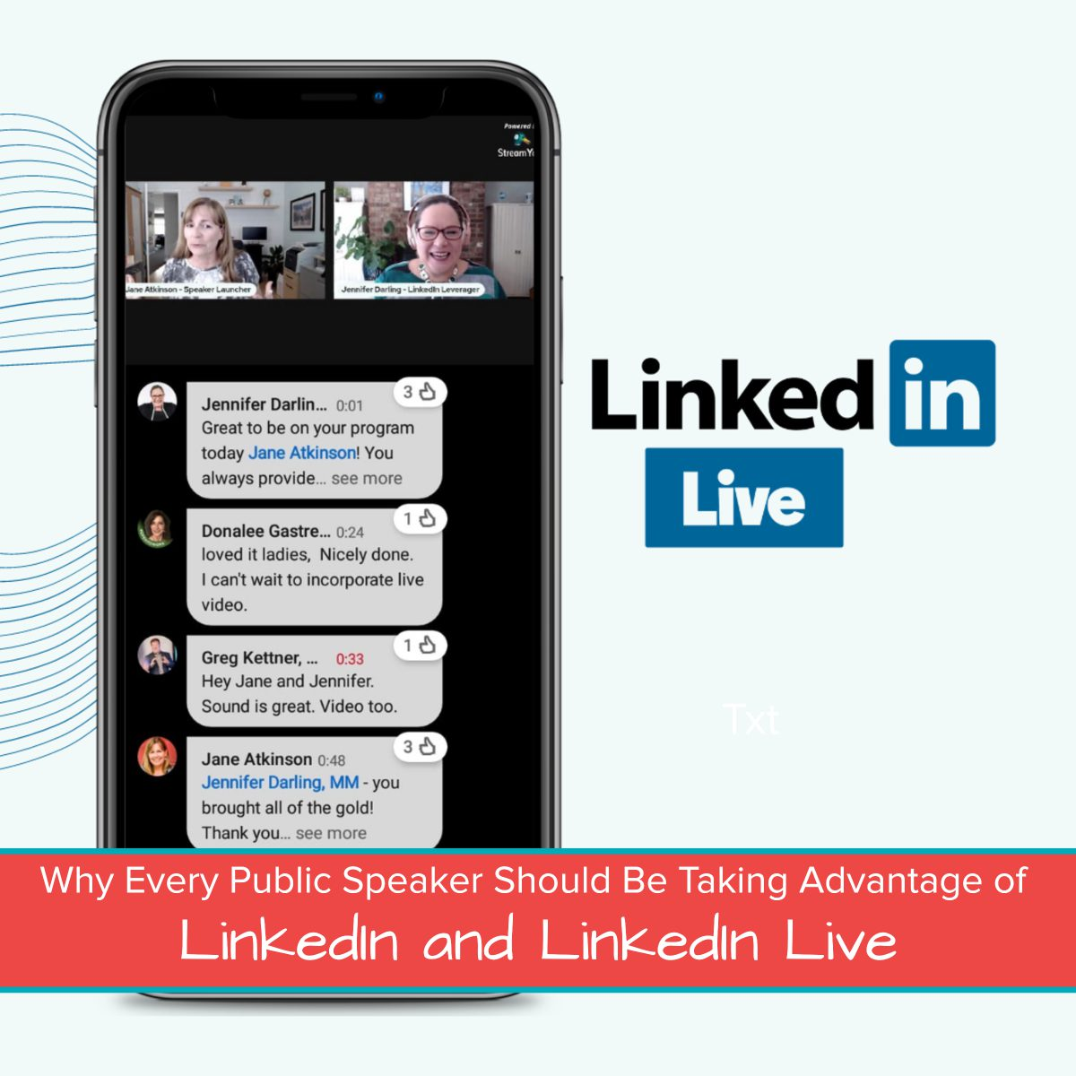 Why Every Public Speaker Should Be Taking Advantage of LinkedIn and LinkedIn Live Featured Image