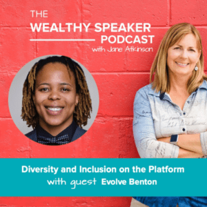 diversity and inclusion on the platform with Jane Atkinson and Evolve Benton