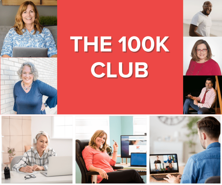 the 100k club - public speaking course