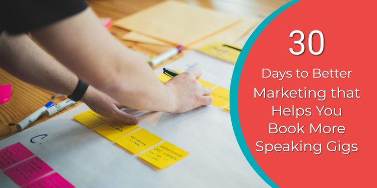 30 Days to better marketing challenge - speaker launcher