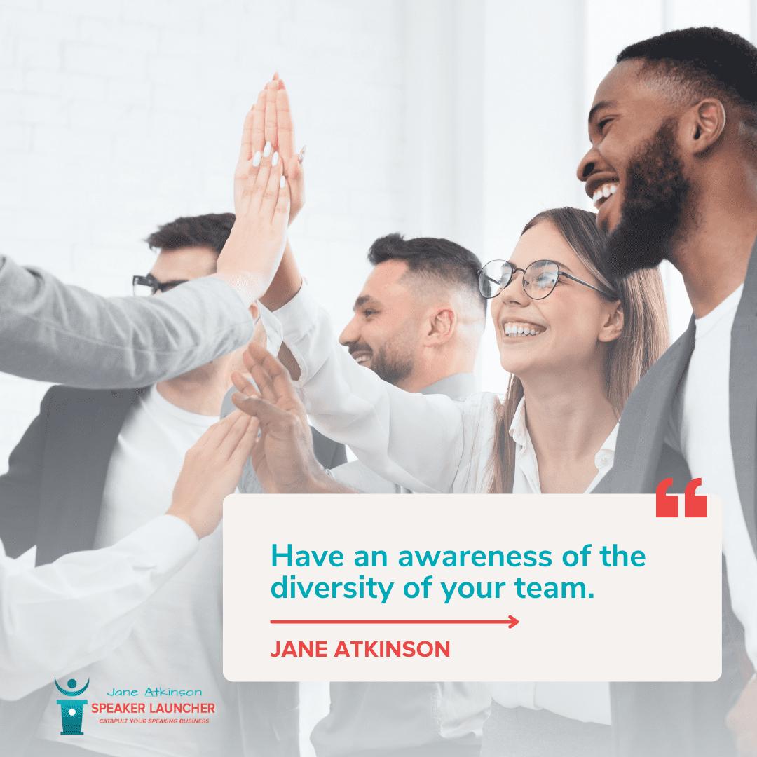 Building a Diverse Business Matters awareness