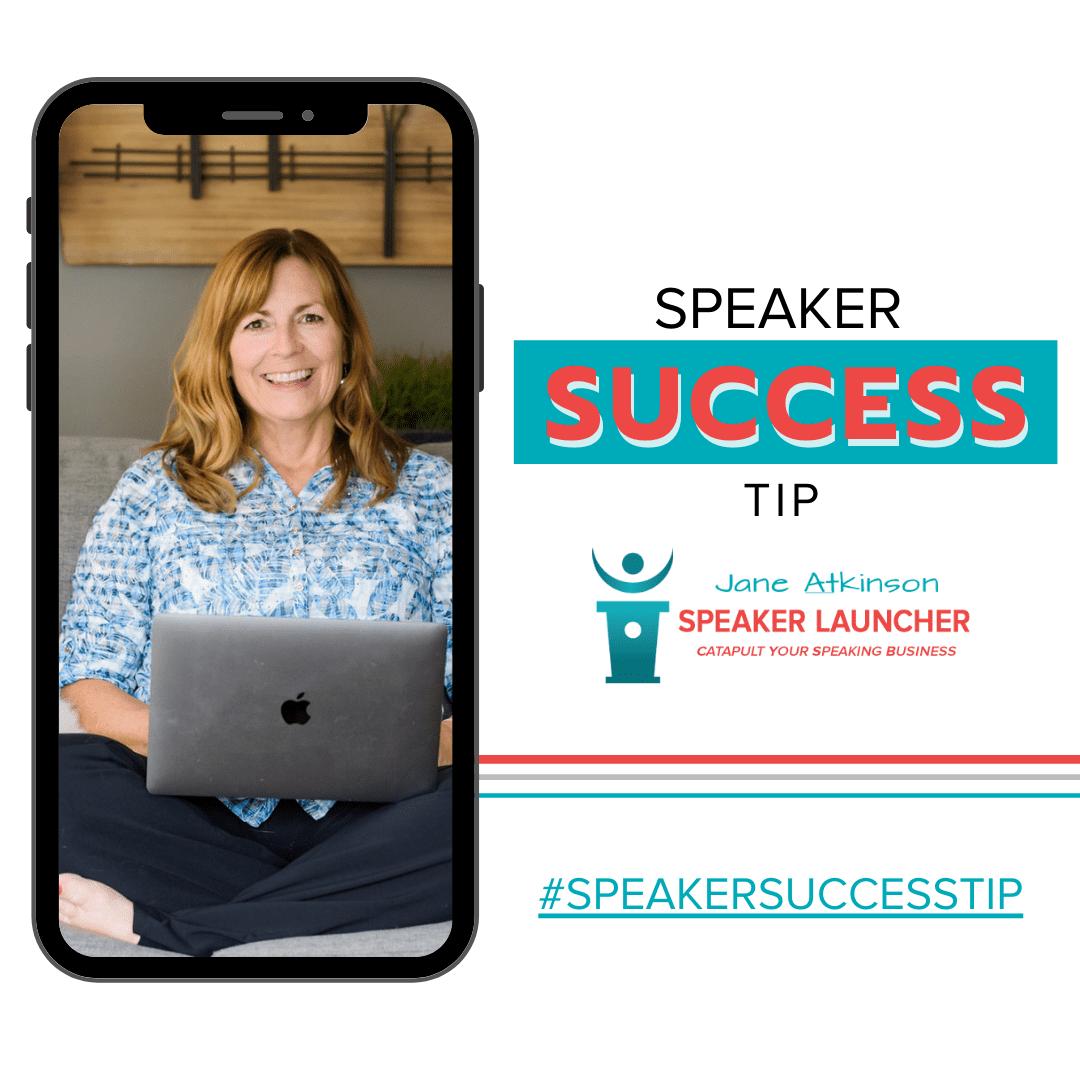 #SpeakerSuccess Tip – Evaluate the Big Picture! 1200 x 1200