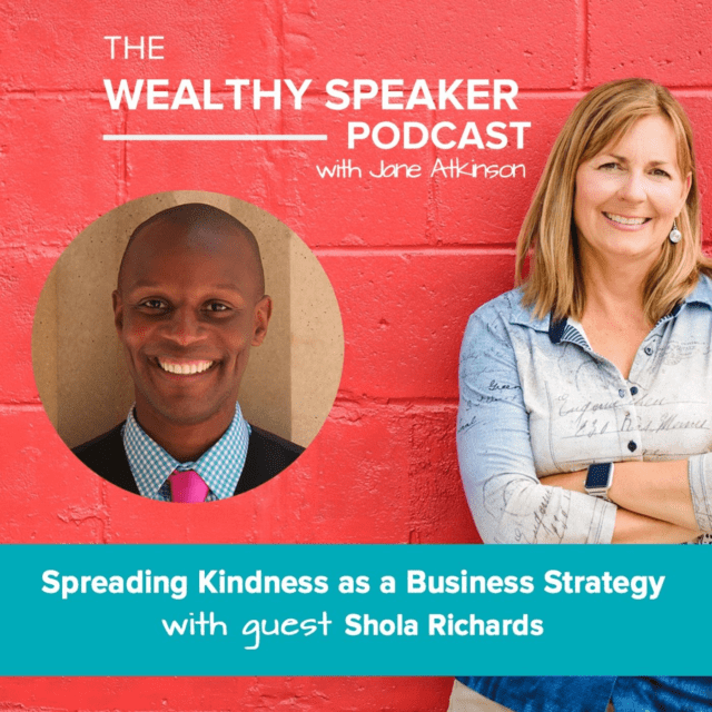spreading kindness as a business strategy with Jane Atkinson and Shola Richards